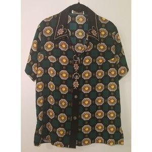 🌻 Vintage 80's/90's Sunflower top
